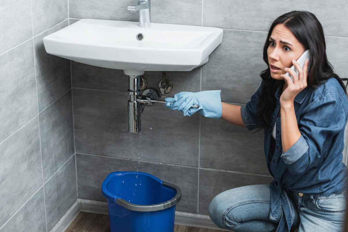 Leaks from pipes and plumbing fixtures are a significant source of water waste and also cause expensive damages. Call Zierman to get your water leak repaired.
